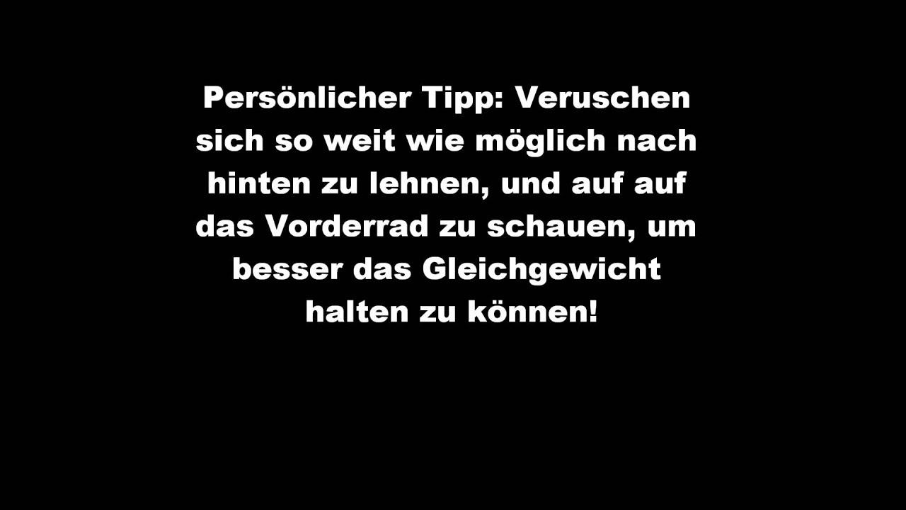 How-To Fakie (BMX/MTB) (German/Deutsch)