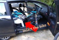 How To Load a Mountain Bike in a Ford B-Max