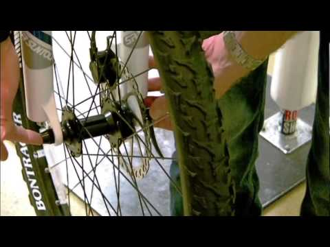 How To Remove and Install Wheels on a Mountain Bike