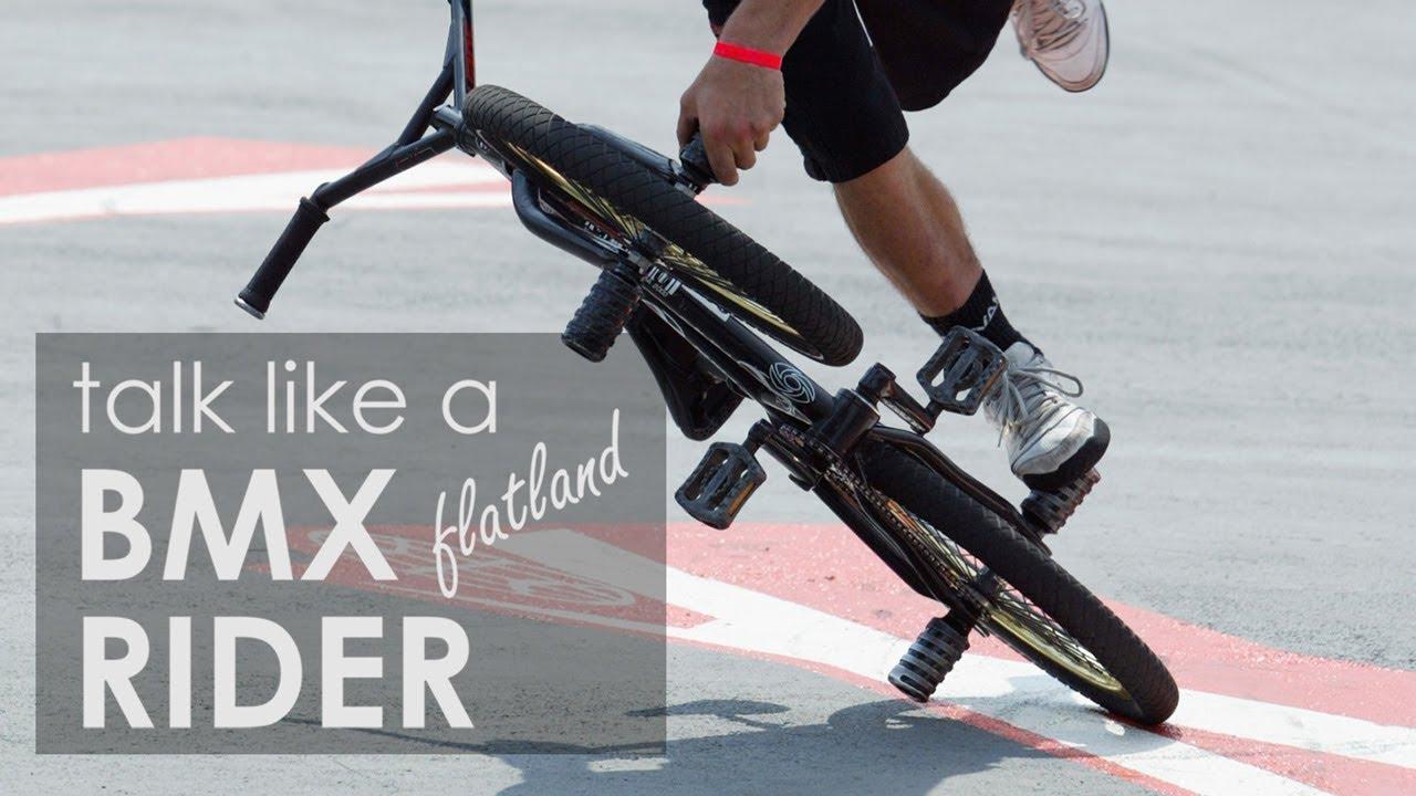 How To Talk Like A BMX Rider (Flatland), feat. Jean William Prevost