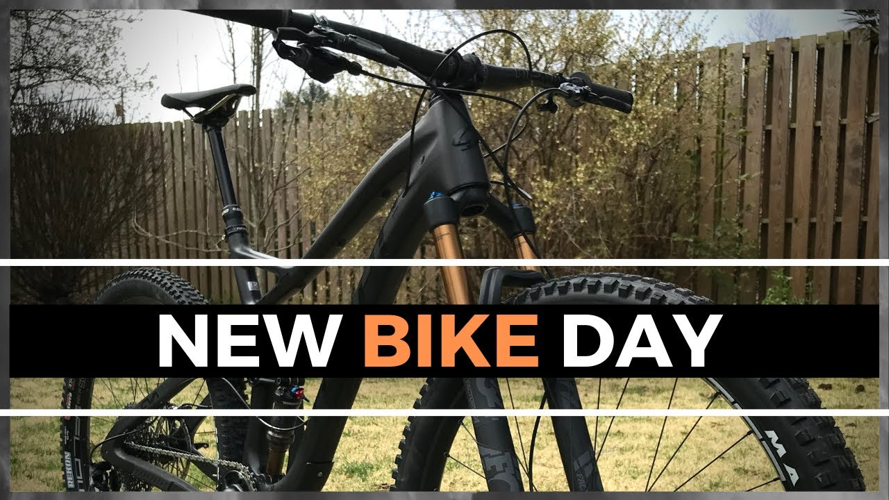 How a Pro Mountain Biker Sets His Bikes up for Training and Racing, New Bike Day
