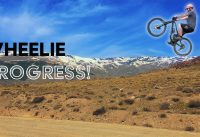 How to Wheelie a Mountain Bike & Wheelie Progression | Skills Series S1 Ep5