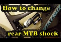 How to change rear mountain bike shock | Rockshox Monarch to Rockshox Vivid Air
