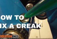 How to fix a creaking noise in your mountain bike