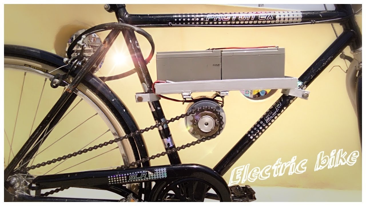 How to make Electric Bike at Home | AMAZING | How to Build an Inexpensive Electric Bicycle