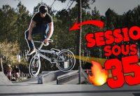 IL MASSACRE LE SKATEPARK EN BMX ! SESSION AU SKATEPARK DE ANDERNOS LES BAINS
