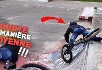 IL SE CASSE LE MOLLET EN BMX MALGRÉ LE FAIT QU'IL SOIT BLINDÉ !