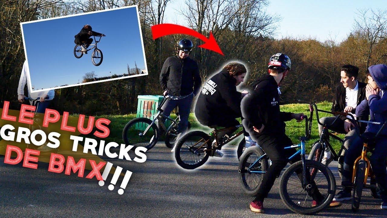 IL TENTE LE TRICKS DE BMX LE PLUS DANGEREUX ET SE RAMASSE VITE FAIT, MAIS TKT IL VA BIEN POTO