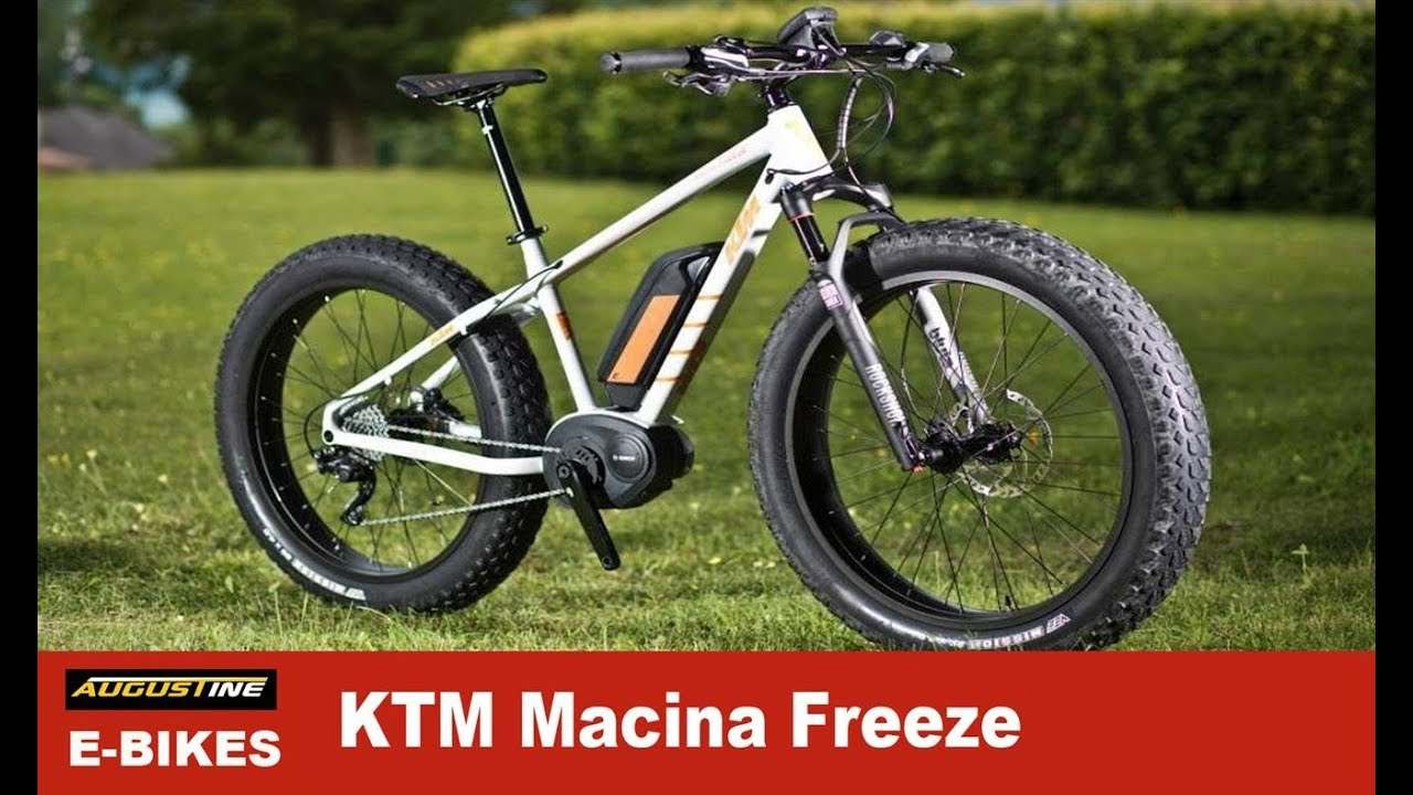 KTM Macina Freeze Plus, Electric Fatbike Bosch