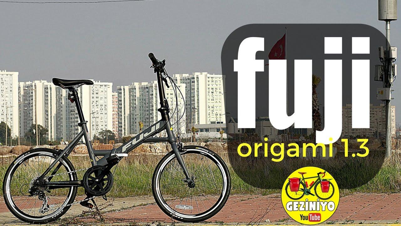 Katlanır Bisiklet İnceleme   Fuji Origami 1.3 Folding Bike