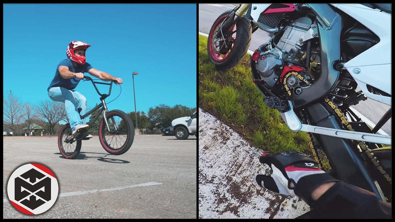 LEARNING BMX MANUALS + CRF450 PROBLEMS