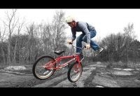 Learning BMX Tricks on an ABANDONED Building!