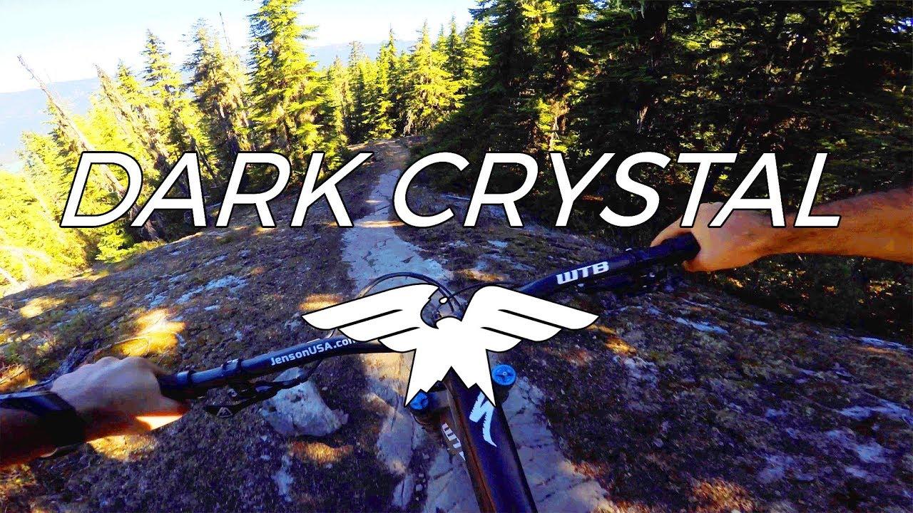 Like Riding a Jackhammer - Dark Crystal - Mountain Biking Whistler British Columbia