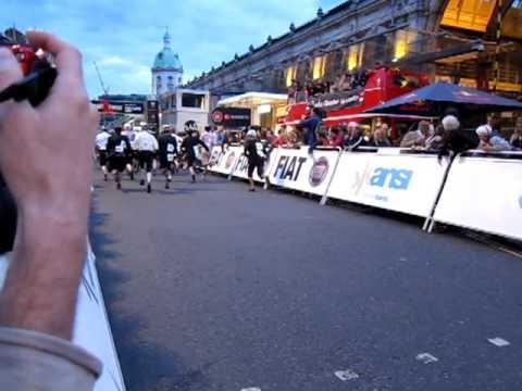 London Nocturne 2011 Folding Bike Race Final Le Mans Style Start
