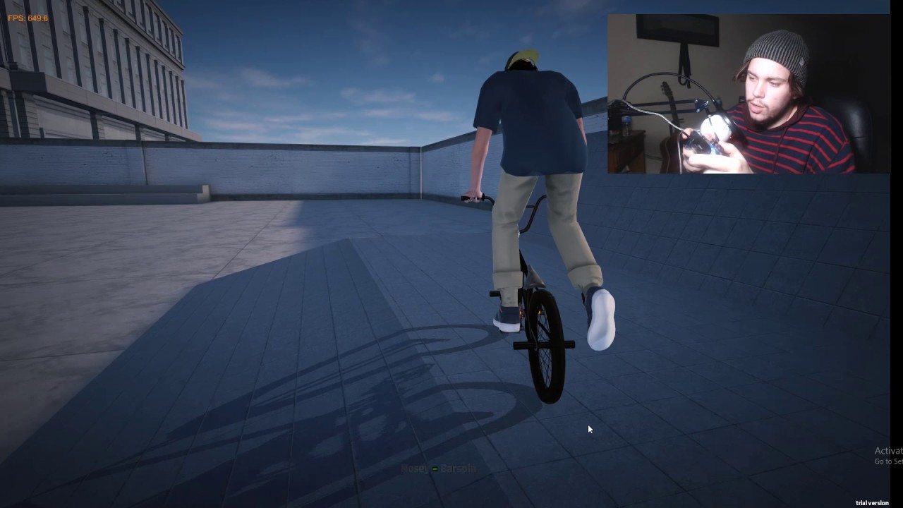 MERRY CHRISTMAS! BMX STREETS GAMEPLAY / HOW TO MANUAL