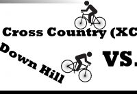 MTB Cross Country vs. Downhill (for beginners)