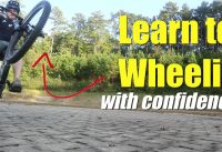 MTB Plan B - Learn to wheelie a mountain bike with confidence.