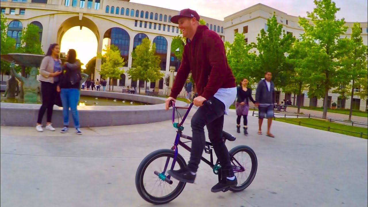 MY TWIN BROTHER RIDES BMX TOO!!