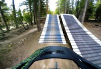 Mammoth Bike Park Opening Day 2016, Pipeline to Shotgun Trail