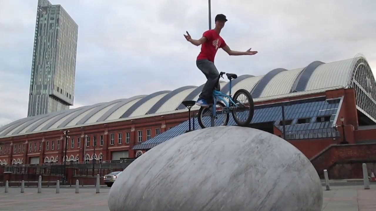 Manchester Central / Underground Carpark - BMX Flat Session