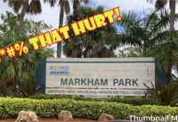 Markham Park (Sunrise, FL) Mountain Bike Trails