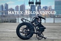 Mate X Bike 750S   Folding Unfolding Demo