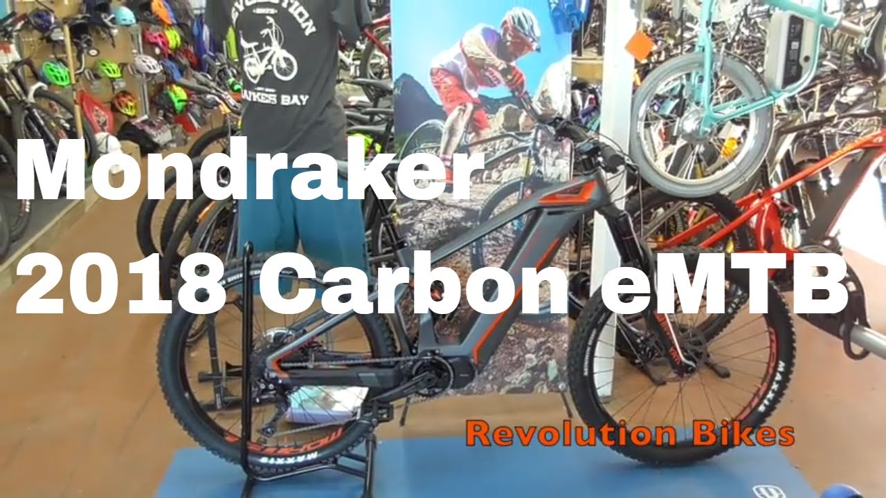Mondraker e-Crusher Carbon R+ 2018 Electric Mountain Bike