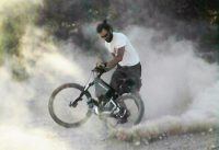 More Power by Cyclone 5000 Watt 48 Volt e-bike in a Mountain Ride