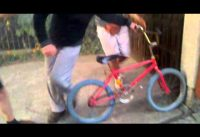 Moto vs bmx - burnout