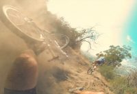Mountain Bike Crash at the Glendora XC Grind Race