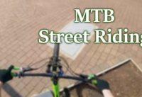 Mountain Bike Street Riding | GoPro POV