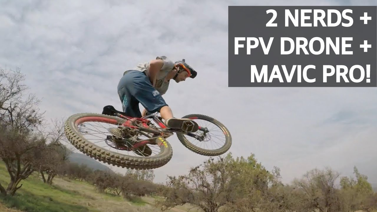 Mountain Bike vs Drone de Carreras vs Drone de Filmación!
