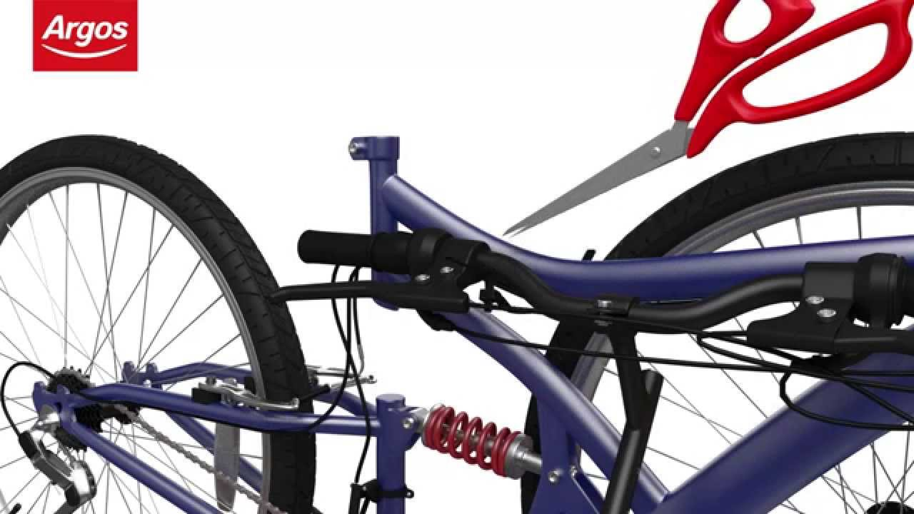 Mountain Bike with Disc Brakes Assembly Guide