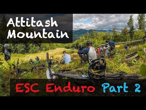 Mountain Biking Attitash Mountain | ENDURO RACE | Part 2