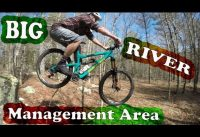 Mountain Biking Big River Management Area | West Greenwich, Rhode Island