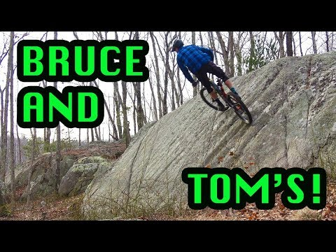 Mountain Biking Bruce and Tom's Excellent Adventure | Gloucester, MA