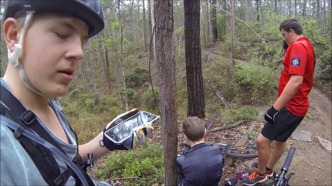 Mountain Biking Crash BROKEN ARM Mt Cootha