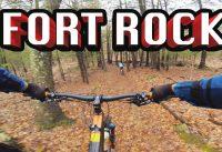 Mountain Biking Fort Rock | Exeter, NH