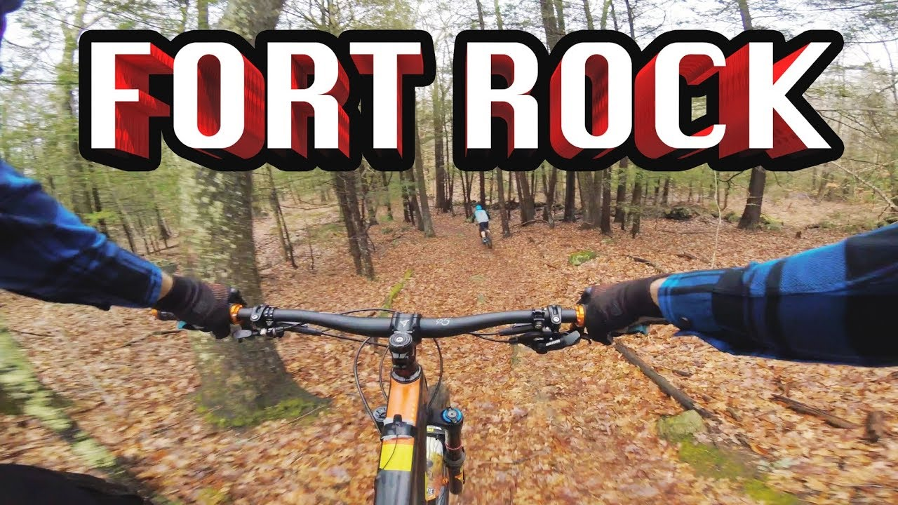 Mountain Biking Fort Rock | Exeter, NH