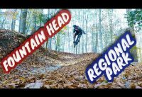 Mountain Biking Fountain Head Regional Park | Fairfax County, Virginia