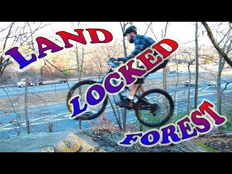 Mountain Biking Land Locked Forest | Burlington, Massachusetts