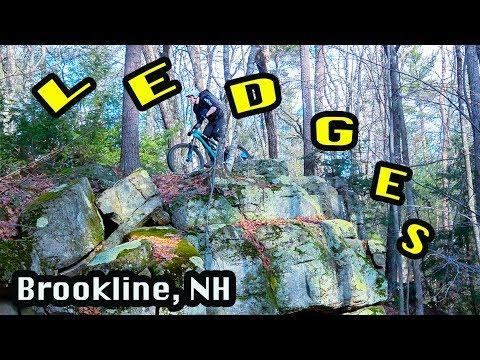 Mountain Biking Ledges | Brookline, NH