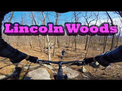 Mountain Biking Lincoln Woods | Lincoln, RI