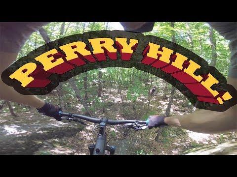Mountain Biking Perry Hill Trails | Waterbury, VT