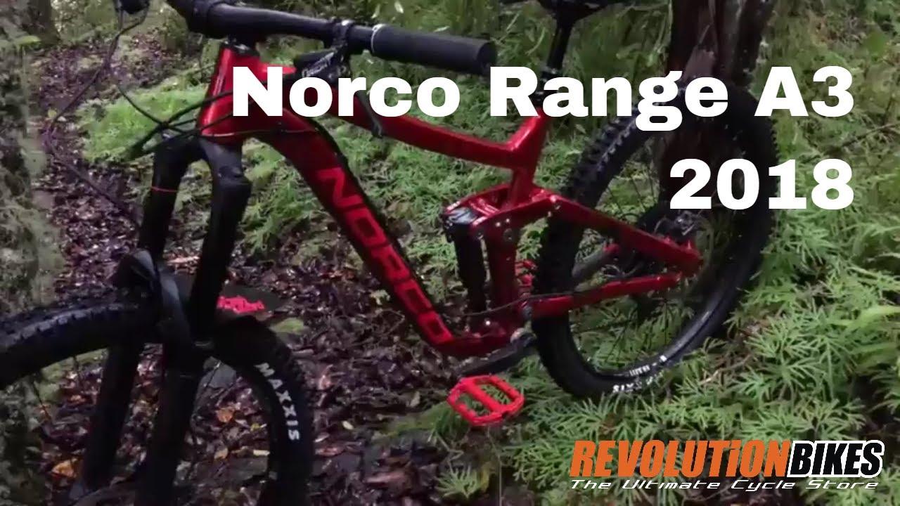 Mountain Biking at Boundary Range on the Norco Range A3