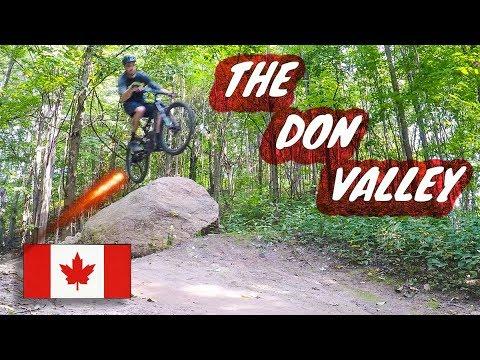 Mountain Biking the Don Valley | Round 2 | Toronto, Canada