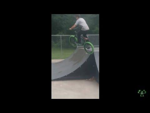 My First BMX Video Freestyle Bmx