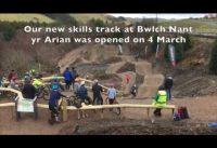 New mountain bike skills track in Bwlch Nant yr Arian