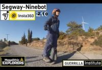 Ninebot Z10 Going Home crossing countryside - Electric Unicycle 45km/h Fast Trip