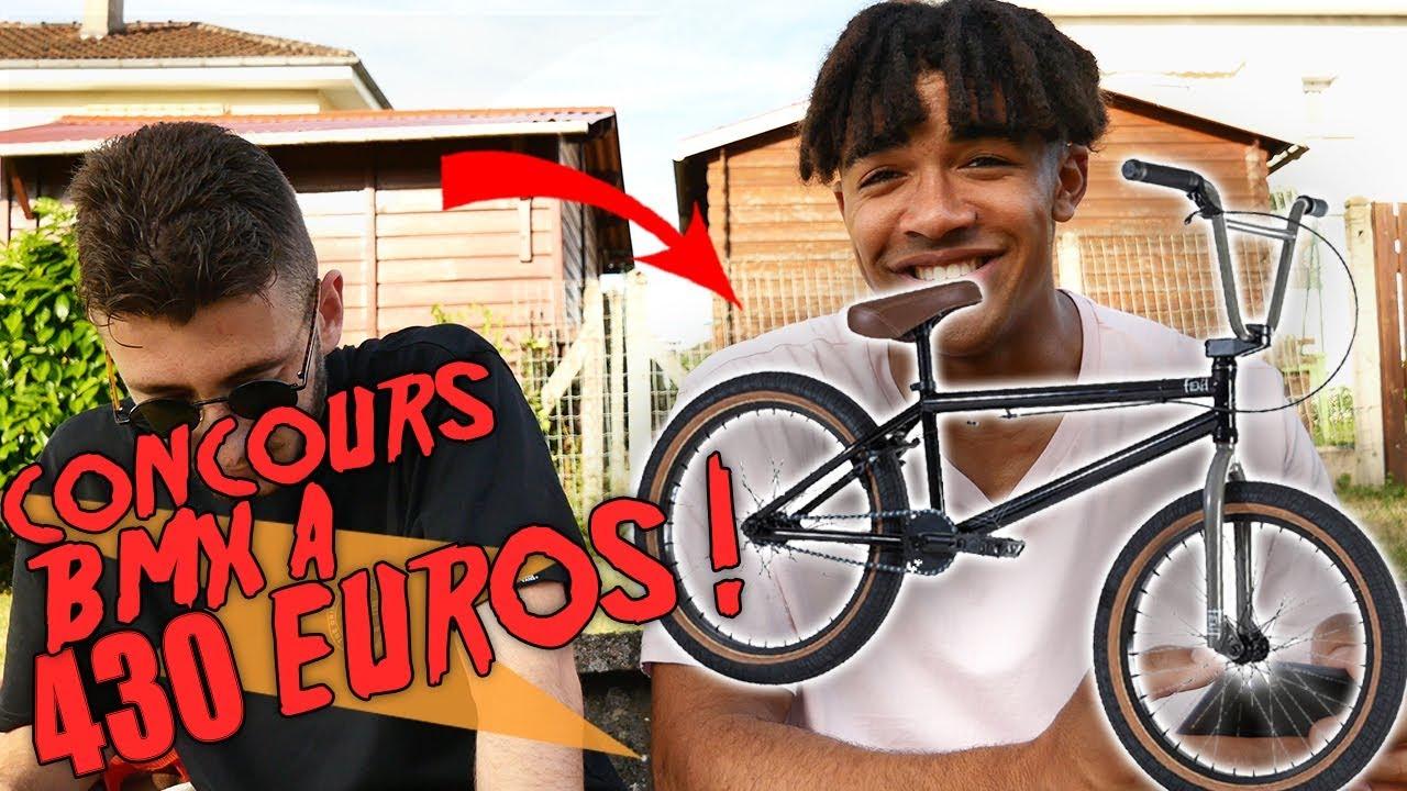ON OFFRE UN BMX A 430 EUROS !!!! CONCOURS + FAQ 10000 ABONNES !